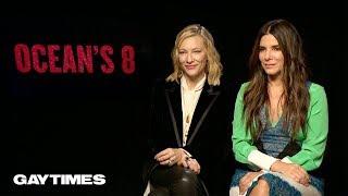 Sandra Bullock & Cate Blanchett talk queer undertones in Ocean