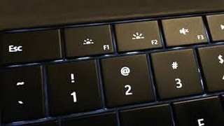 how to turn on and off keyboard backlight in windows 10 in laptop 2016