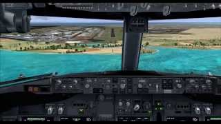 FSX :: Fly to Singapore(Changi Airport)