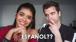 I spoke ONLY Spanish to my German boyfriend for 24 HOURS!