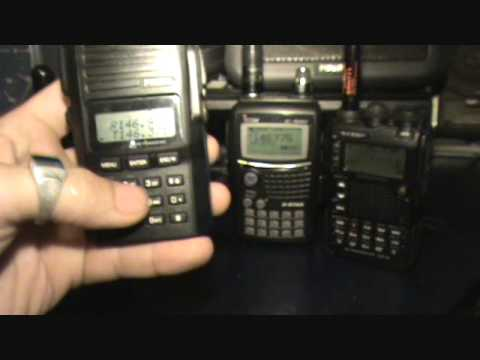 Amateur HTs UV3R Puxing PX888 Yaesu VX8DR Icom Ic-81AD