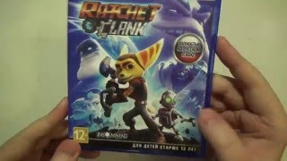 Ratchet & Clank Распаковка чистокровного Playstation эксклюзива