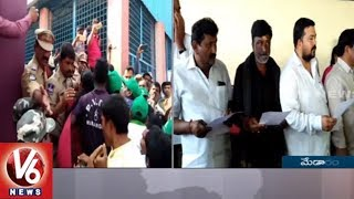 Clashes Between Adivasi And Lambadis During Medaram Committee Members Oath Taking Ceremony  - netivaarthalu.com