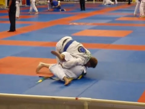 Fargo BJJ & MMA Academy | Martial Arts in Fargo | 2010 Pan-American Champion David Tofte match 4