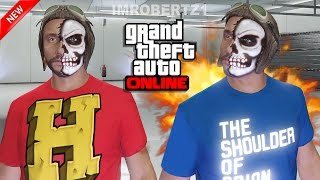 GTA 5 Online - Best Shirt Color Glitch! Change T-Shirt Color! Cool Outfits! GTA 5 Glitches!