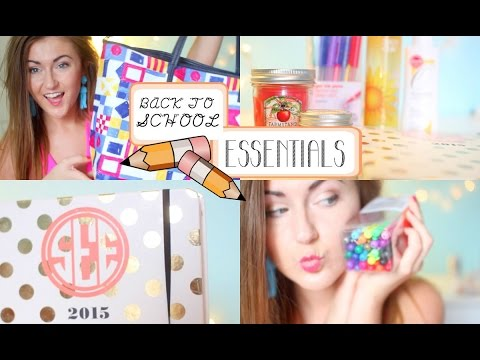 Back-to-School Supplies & Essentials 2014