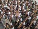 CUMBIA VERDE (232 harps playing) ( Largest Harp Ensemble)