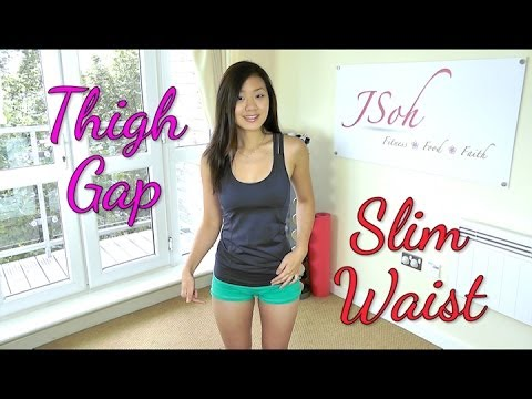 Inner Thigh Gap & Slim Waist Workout (do This!) video