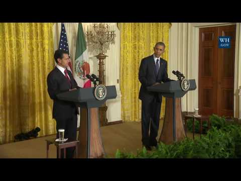 President Obama and President Peña Nieto Hold a Joint Press Conference