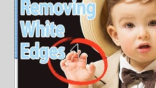 How To Remove White Edges When Cutting Out Images - Photoshop Tutorial