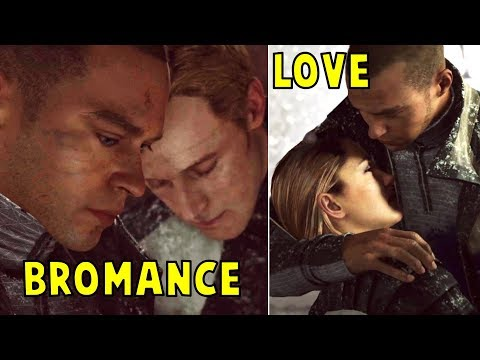 Simon Gives His Heart to Markus vs North Gives Her Heart to Markus - Detroit Become Human
