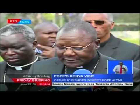 Catholic Faithfuls across the East Africa count down to the pope's scheduled visit Kenya
