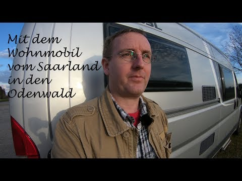Wohnmobiltour vom Saarland in den Odenwald - 4K