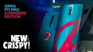 OPPO F11 Pro AVENGERS Edition! #NewAndCrispy | TricycleTV
