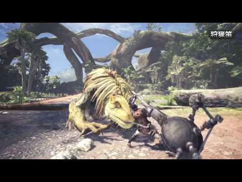 Monster Hunter World - Weapon Classes 7 Minutes of New Gameplay (1080p ) モンスターハンター:ワールド