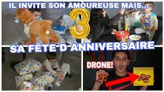 IL INVITE SON AMOUREUSE A SON ANNIVERSAIRE MAIS...ET TEST DE DRONE