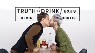 Exes Play Truth or Drink (Devin & Curtis) | Truth or Drink | Cut