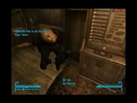Bugs Grotescos Fallout: New Vegas