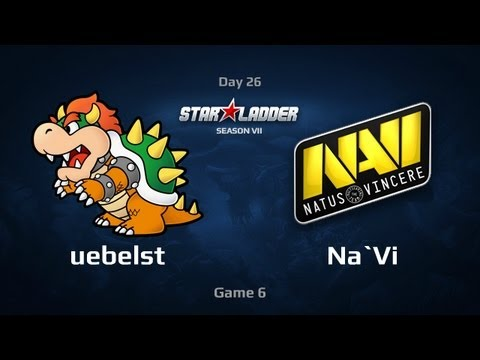 Na`Vi vs uebelst, SLTV Star Series S VII Day 26