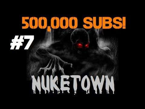 30 Rounds of Drunken Nuketown Part 7: Just Polished Off a Bottle of Wine! (500k Subs Marathon)