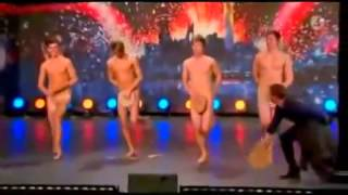 Dancing Naked Swedens Got Talent  Very Funny