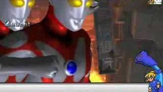 ロックマンVSウルトラマンの動画