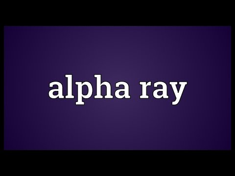 Header of Alpha Ray