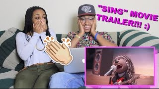 """Couple Reacts : """"Sing"""" Official Movie Trailer Reaction!!!"""