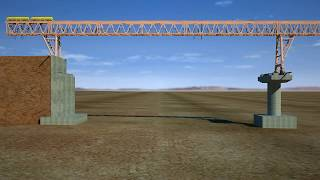 Bridge Construction 3D Animation with Details(Step by step process)_ Kems Studio - India