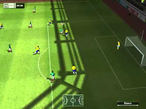 Brazil vs Mexico  (sp 2014) gameplay