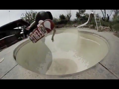 INSTABLAST! - Raw Pool Destruction!! Invert Dart Throwing!! Double Filp Crook Hubba!