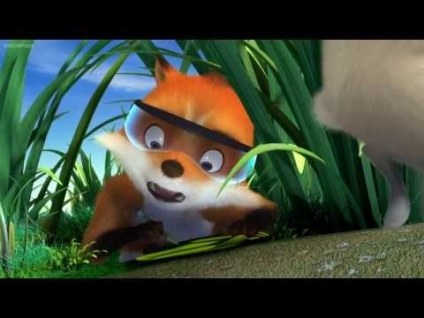 Cartoon Movies For Kids 2014 - Agent F.O.X - Best Animation Movie English 2014