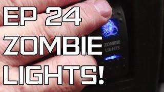 DIY Camper Build - Episode 24 - Spotlights and TV
