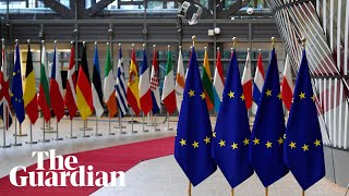 EU leaders meet for Brexit summit – watch live