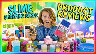 TESTING SLIME PRODUCTS - SHOPPING HAUL | We Are The Davises