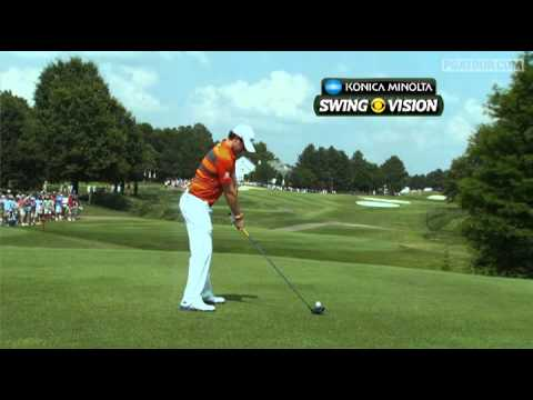 A slow motion look at Rory McIlroy's swing