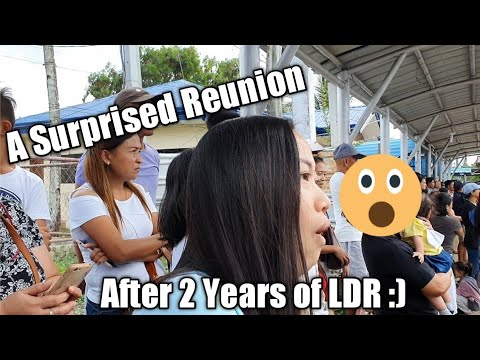 Surprise Reunion after 2 years of LDR (Long Distance Relationship) ❤️