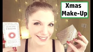 Get Ready with me for Christmas + Verlosung | Mein Full Face Makeup Nr. 2