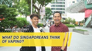 Word On The Street: What Do Singaporeans Think Of Vaping?