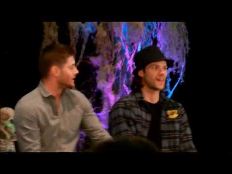 Jensen Ackles and Jared Padalecki talk about tattoos - Supernatural Burcon 2013