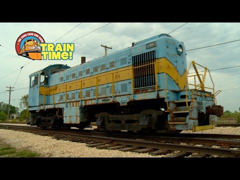 TRAIN TIME - DIESEL DAYS - Choo Choo Bob Show