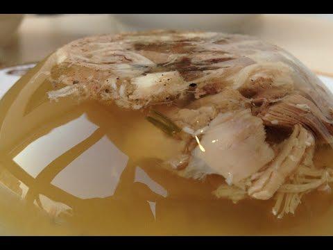 Домашний холодец (холодное) Прозрачный и невероятно вкусный | Jelly Soup Recipe, English Subtitles