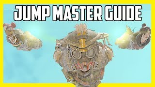 Apex Legends Jumpmaster Guide - How to Jump Faster & Skydive Long Distances!