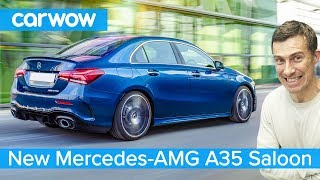 New Mercedes-AMG A35 Saloon (Sedan) 2020 - see why it's the ultimate small posh performance car