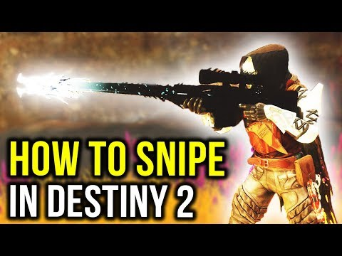 How to Snipe in Destiny 2: Forsaken - Top 10 PvP Sniping Tips thumbnail