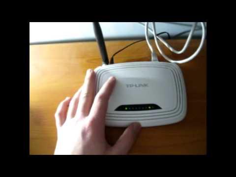 Como resetear el router wi-fi (TP-link) [2014]