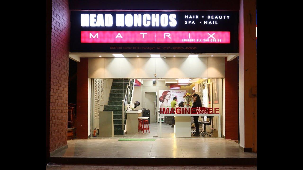 Beauty Salon Interior Design Head Honchos Chandigarh India Youtube.