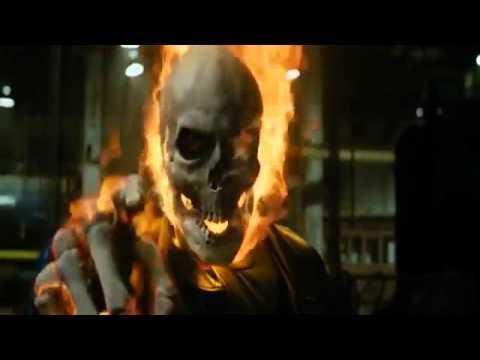 Ghost Rider First Transformation.