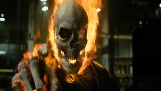 Ghost Rider First Transformation.