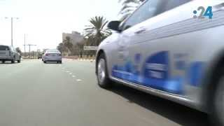 أسطول من السيارات الهجينة يجوب أبوظبي اليوم